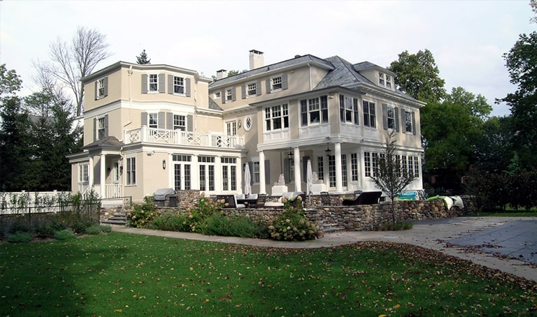 Architecture for mansion homes