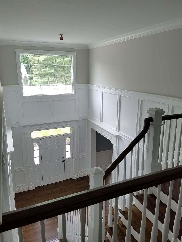 Suffolk architect hard wood stairs